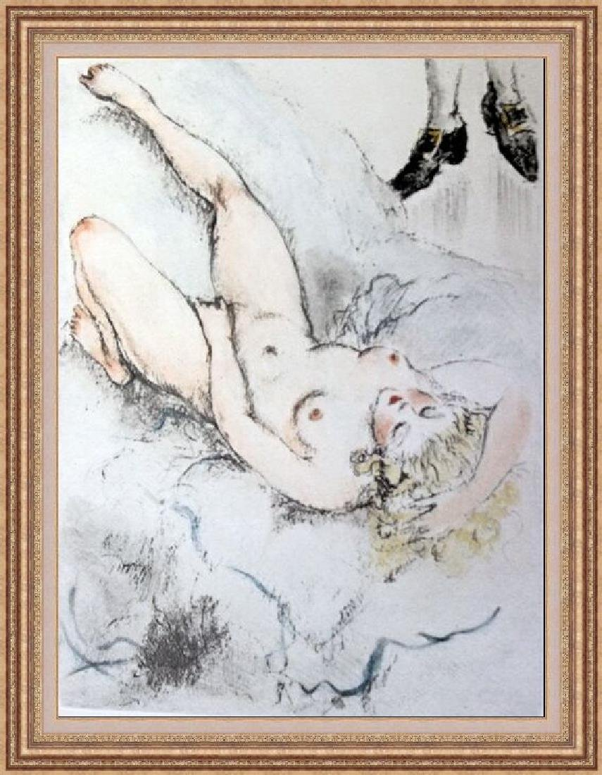 Original Etching Louis Icart - My Pleasure