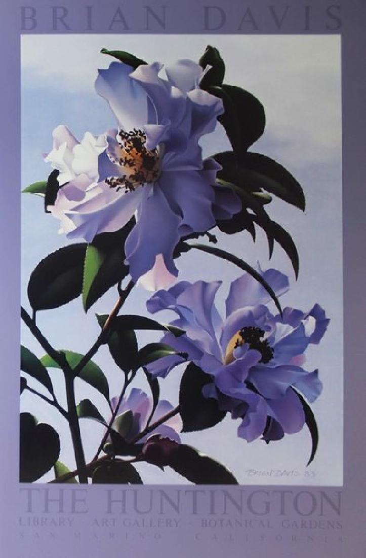 Floral Exhibition Fine Art Print for Brian Davis