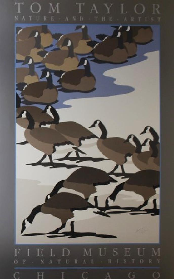 Signed Lithograph Thomas Taylor - Birds