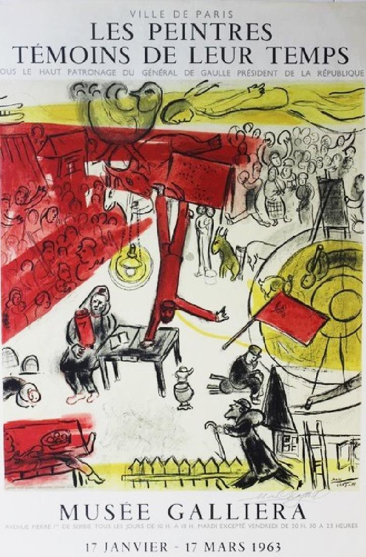 Original Marc Chagall Les Peintires 1963