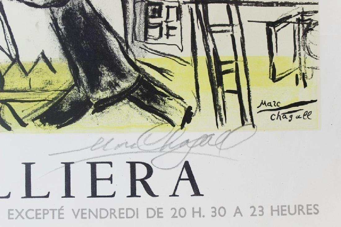 Original Marc Chagall Les Peintires 1963 - 2