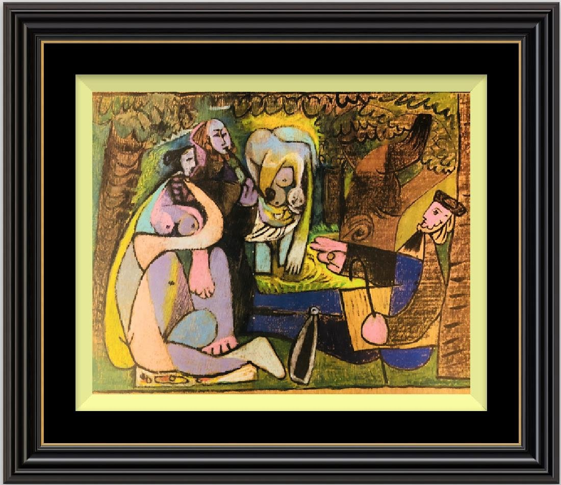 Lithograph Print After Pablo Picasso