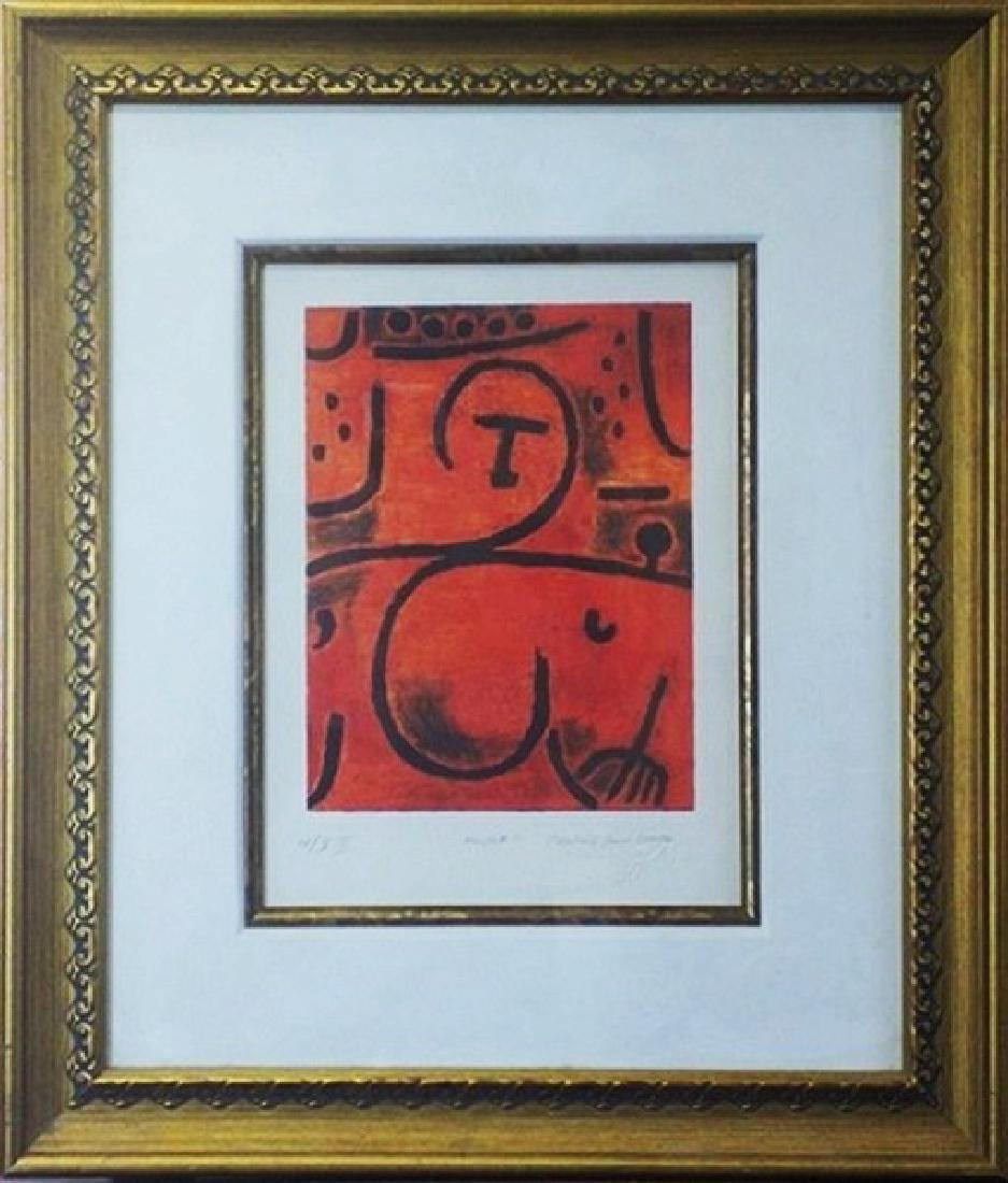 New York' - Paul Klee Lithograph
