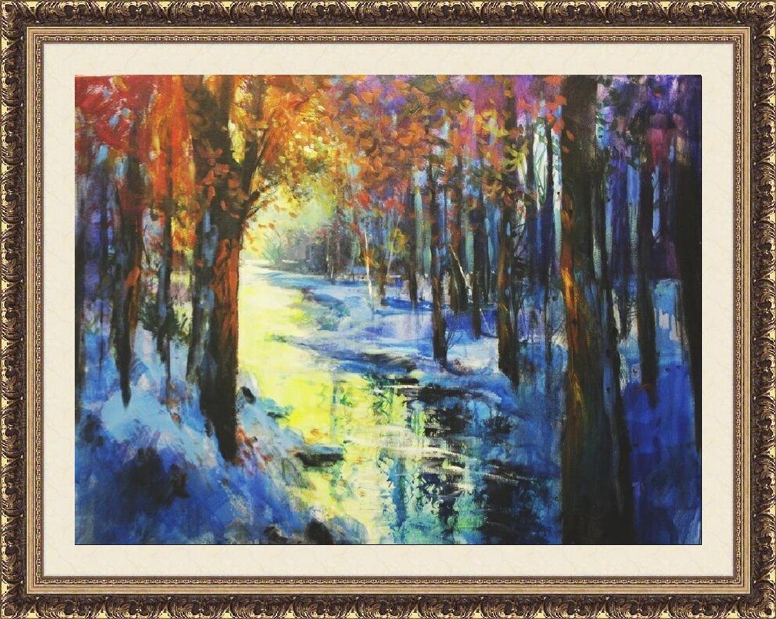 WinterGold by Michael Schofield 30x40