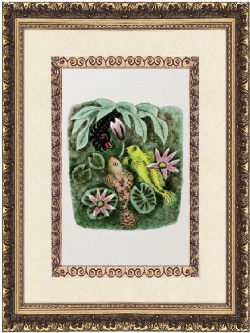 Original Lithograph by Dom Robert