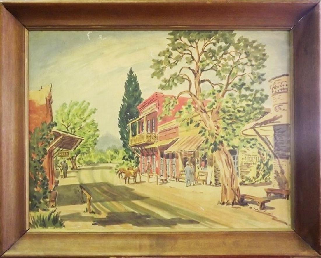 Frank Serratoni Original Painting