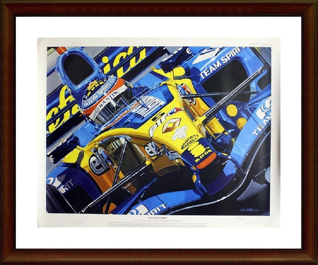 Hand Signed Ltd Ed Colin Carter Viva Fernando