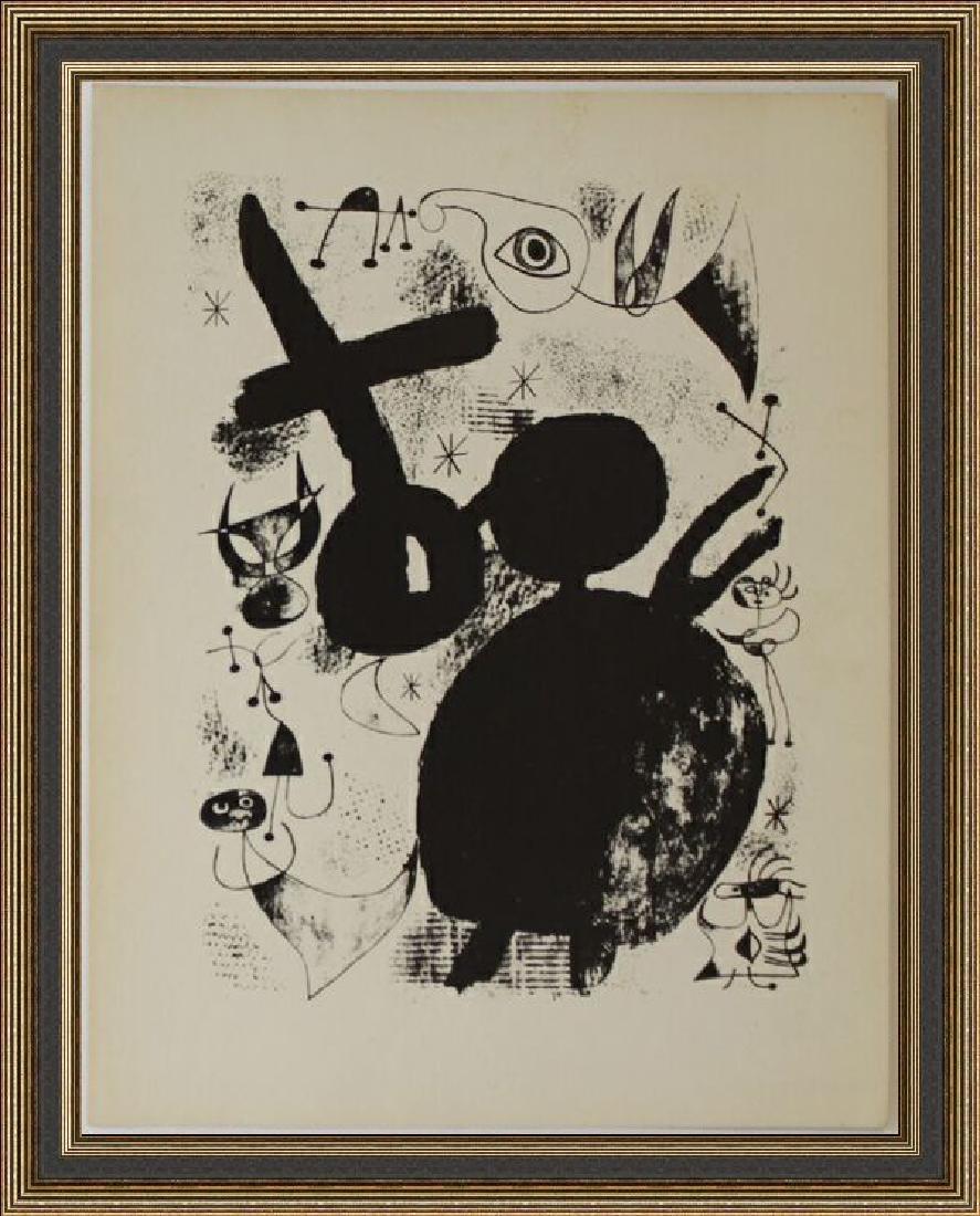 Lithograph XXXIV 1944 by Joan Miro