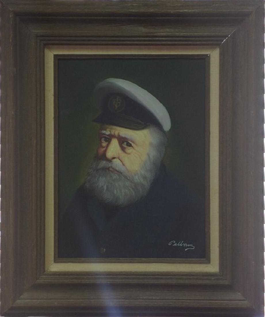 Portrait of a Sailor, 24x20