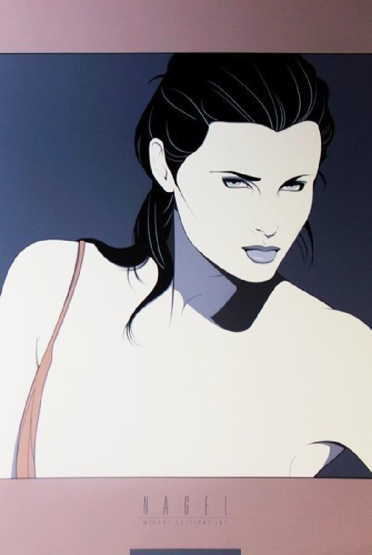 Signed Serigraph by Patrick Nagel