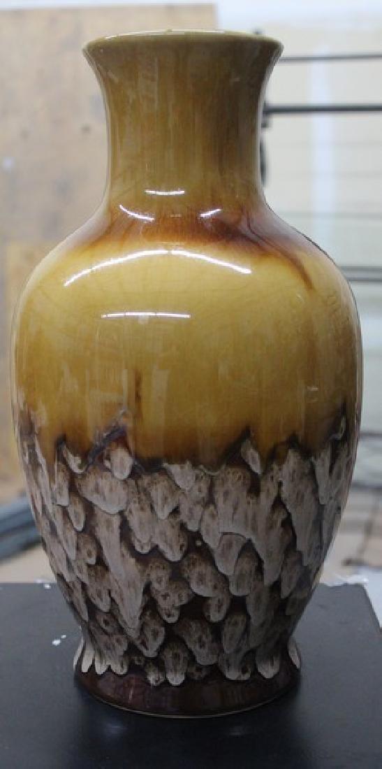 Hand Blown Glass Vase