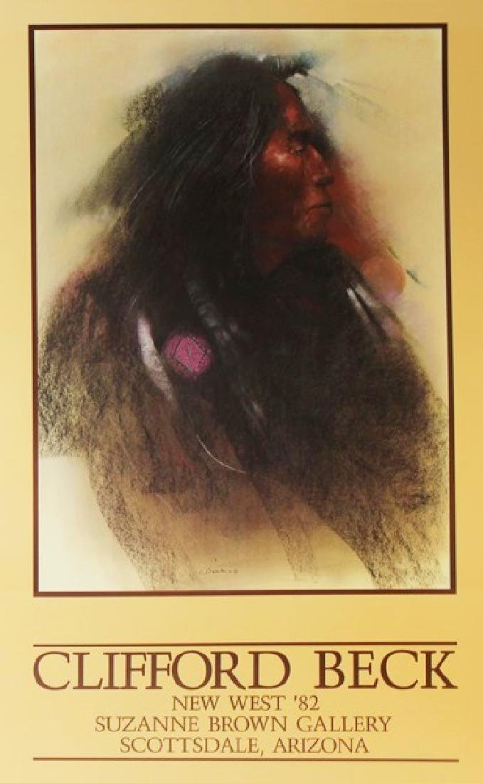 Signed Fine Art Print Clifford Beck Exhibition