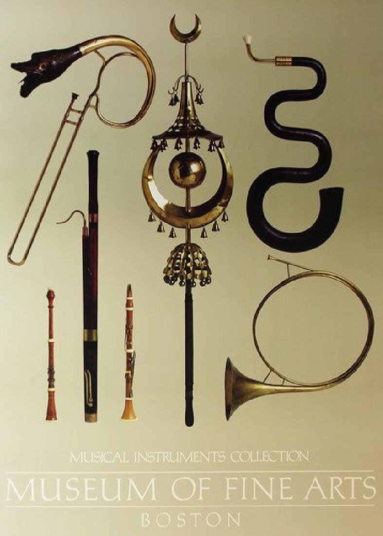 Fine Art Print Musical Instruments Collection