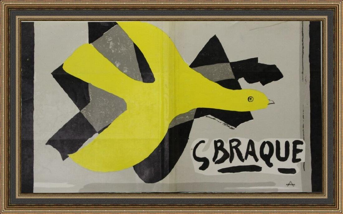 Lithograph Georges Braque - Cover