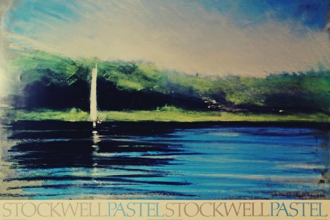 Offset Lithograph Stockwell Pastel