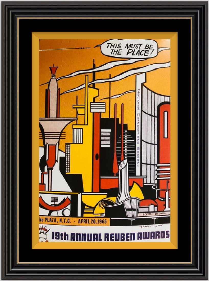 This Must be The Place-by ROY LICHTENSTEIN