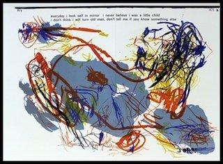 Original Signed Lithograph Asger Jorn