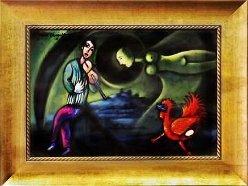 Danse Fertilite - Marc Chagall 1972'