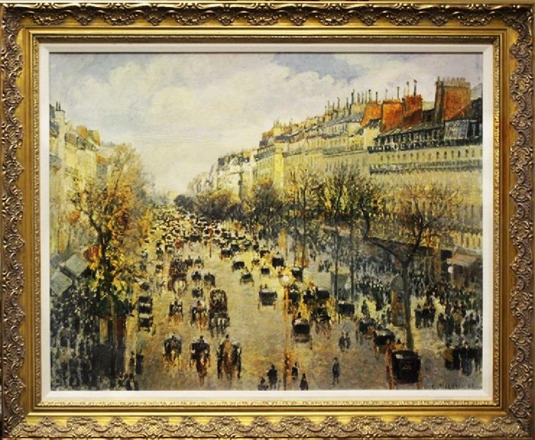 Giclee on Canvas - Camille Pissarro