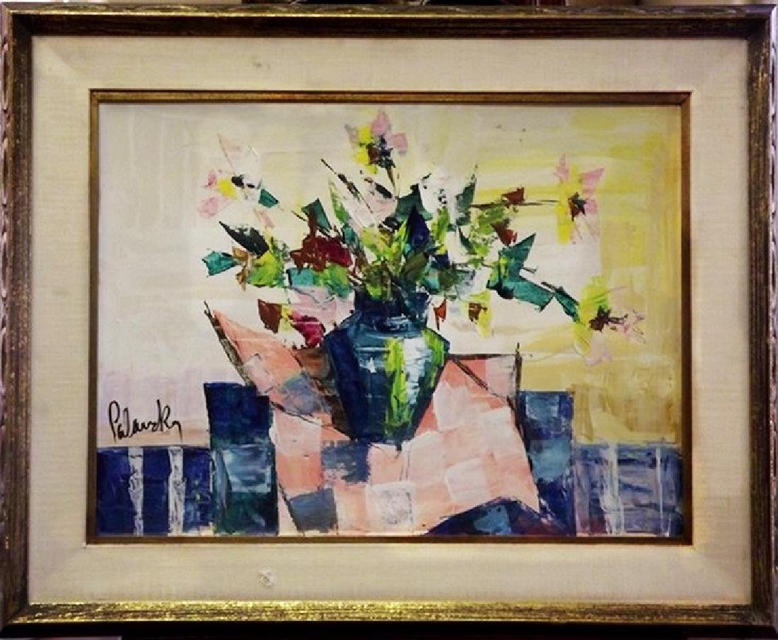 Still Life III - Painting by Palasky