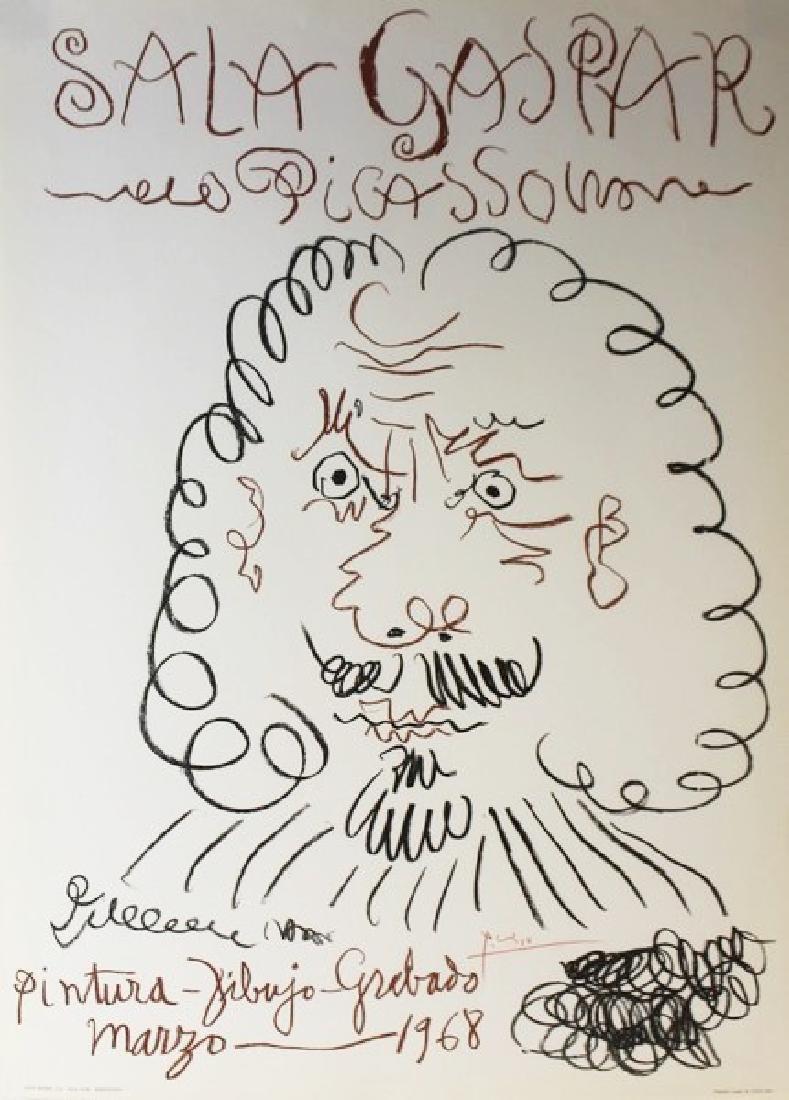 Original Picasso Sala Gaspar 1968