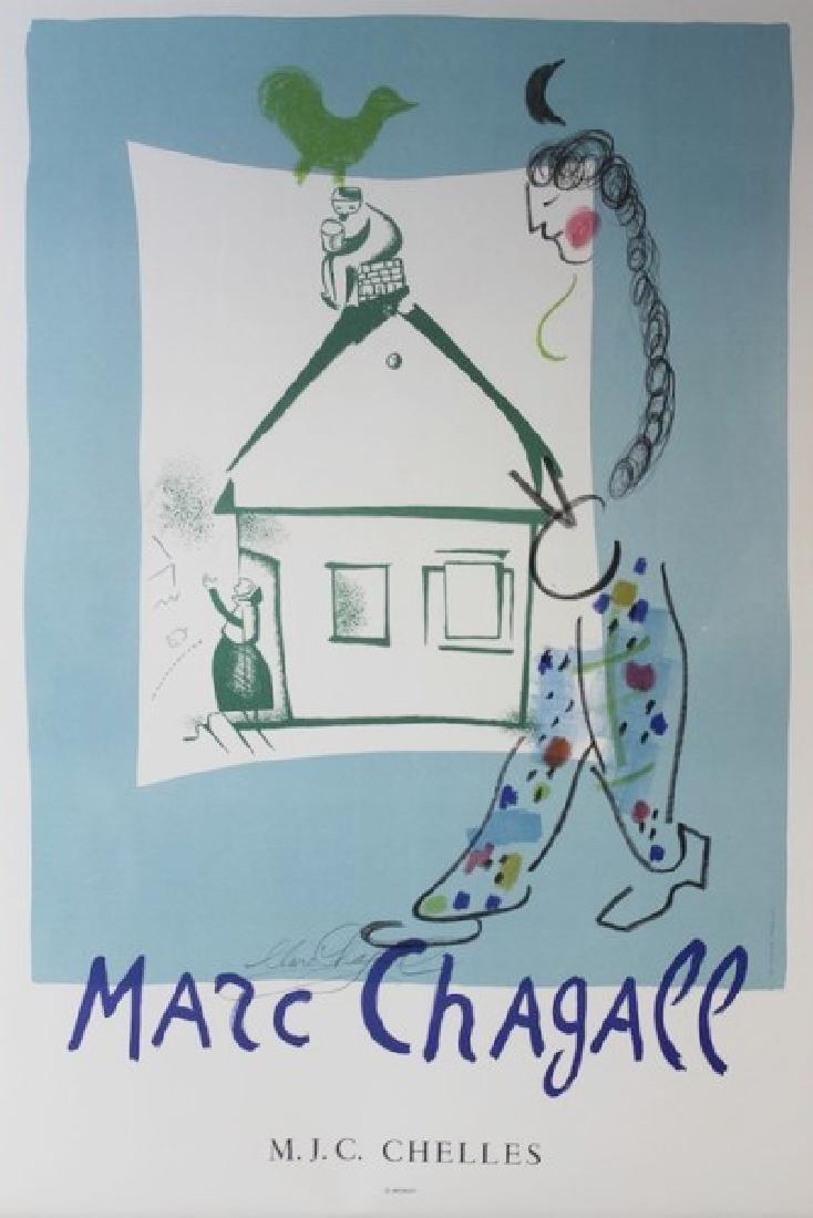 Original Marc Chagall M.J.C. Chelles