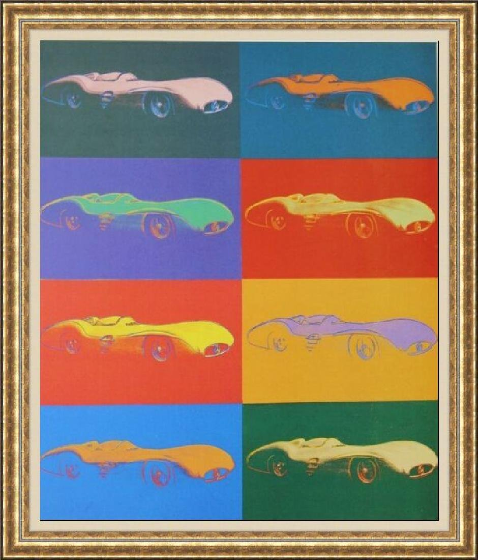 Lithograph by Andy Warhol - Mercedes Benz Formel