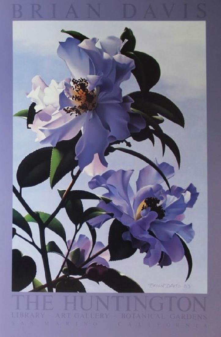 Floral Exhibition Fine Art Print for Brian Davis