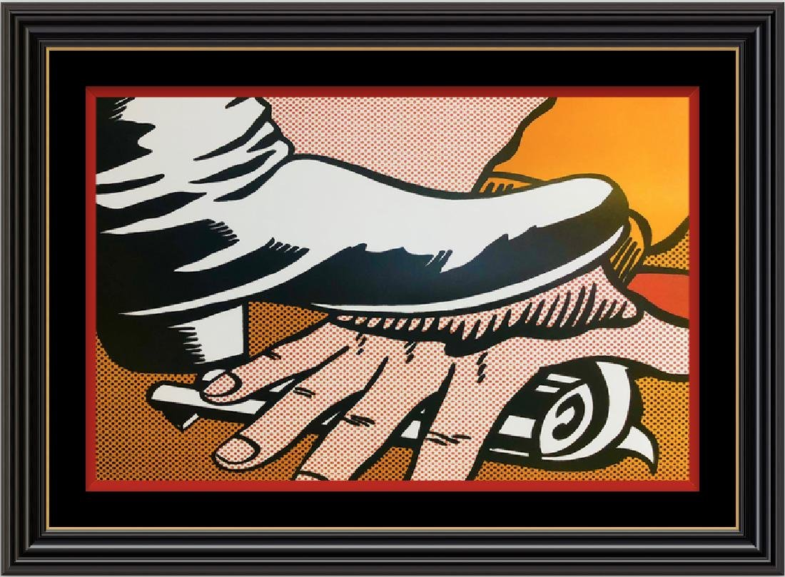 Brushstrokes, Four Decades by ROY LICHTENSTEIN