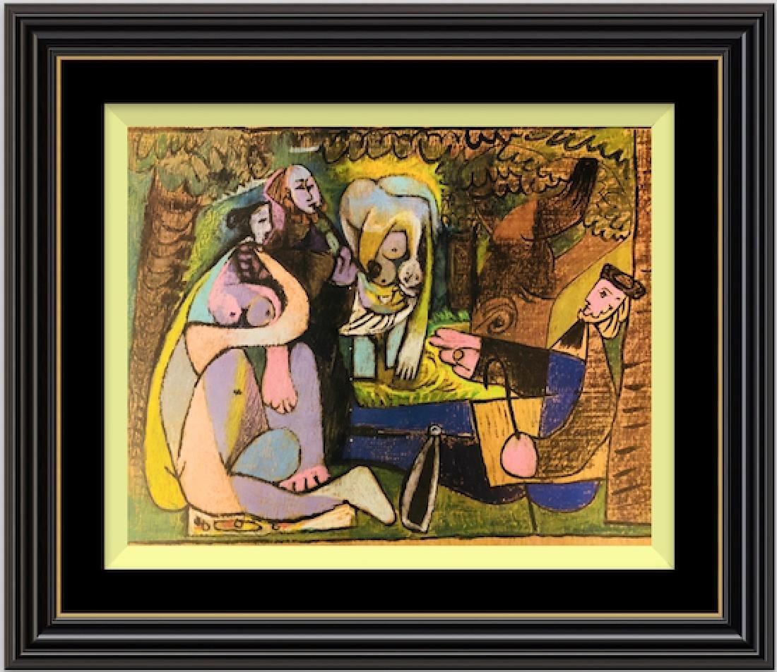 Lithograph Pablo Picasso Expo Vallauris 1952