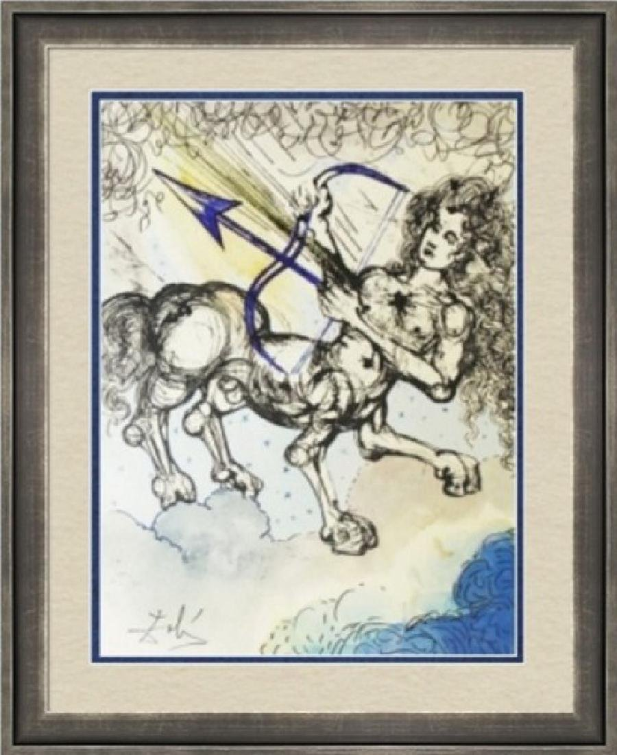 Sagittarius, Zodiac Suite - Salvador Dali