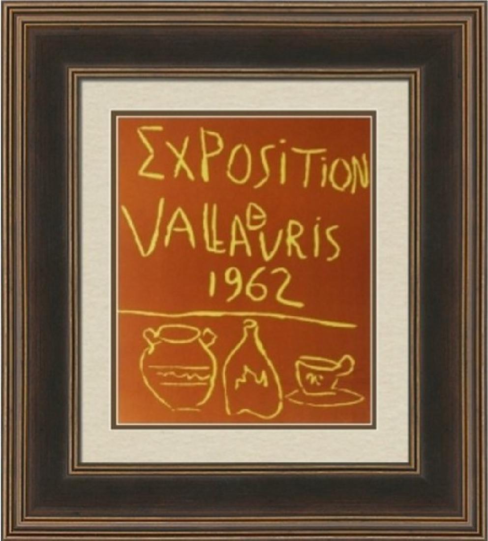 Lithograph Pablo Picasso Expo Vallauris 1962