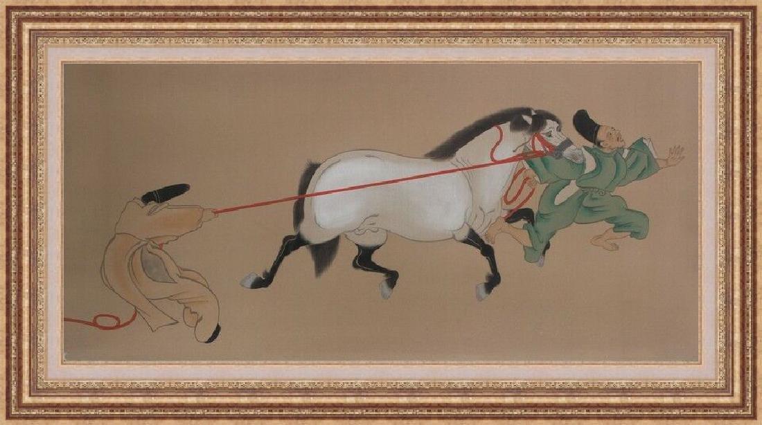 Original Watercolor on Silk