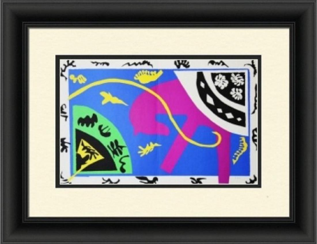 Rare Lithograph by Henri Matisse Jazz Suite