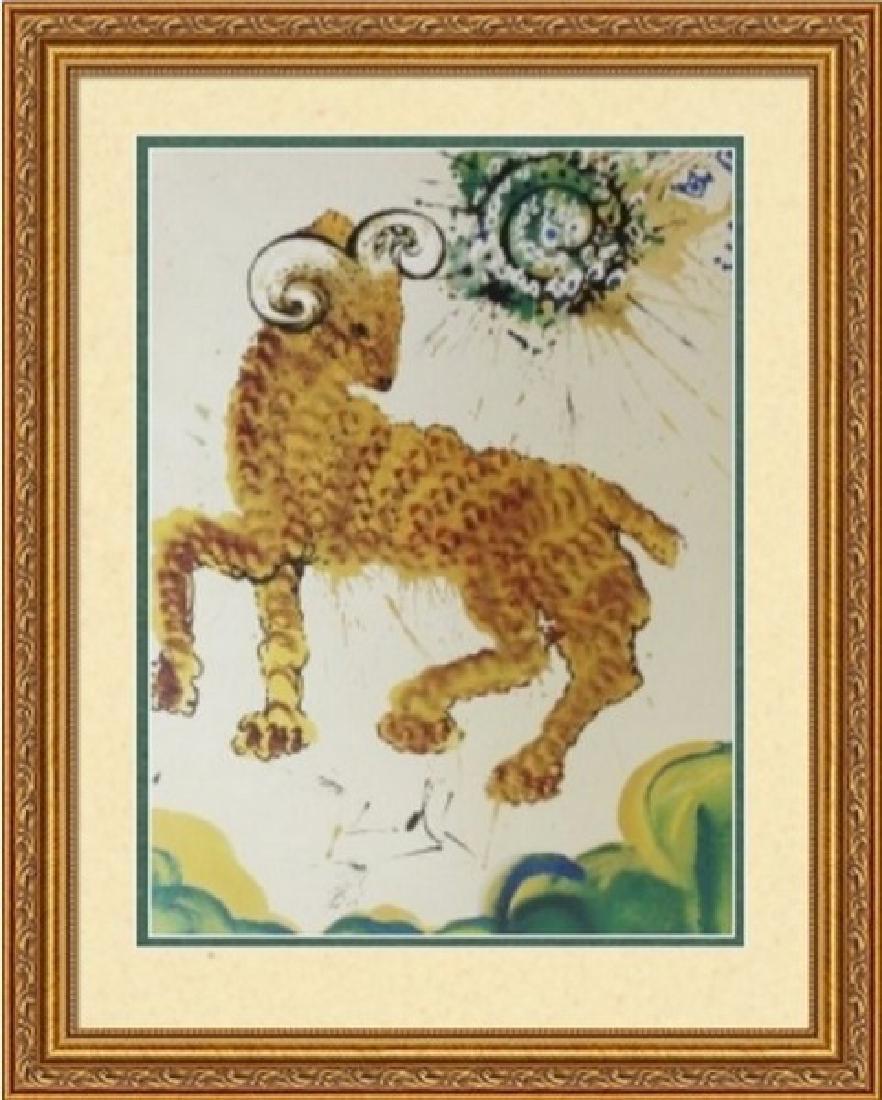 Aries, Zodiac Suite - Salvador Dali