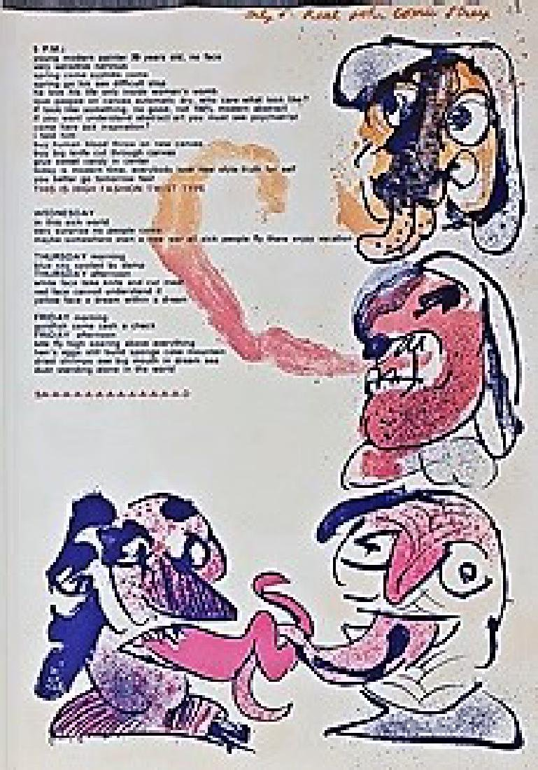Original Lithographs by Alan Davie & Pierre Alechinsky