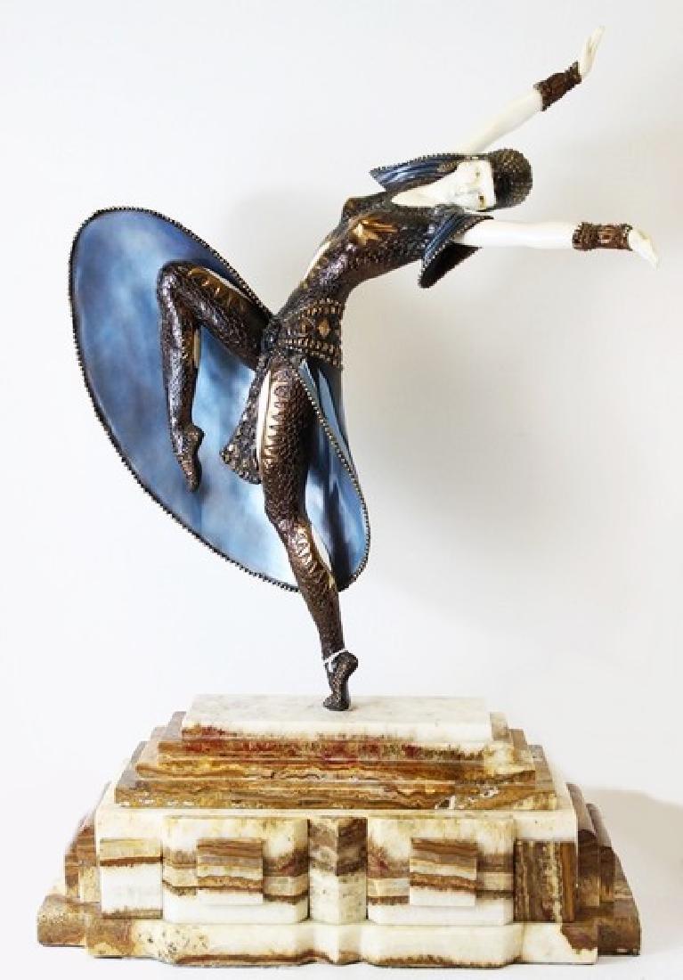 Almeria - Sculpture After D.H. Chiparus