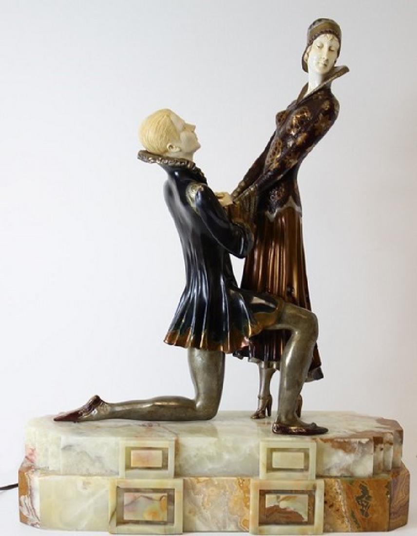 Romeo & Juliet - After D.H. Chiparus