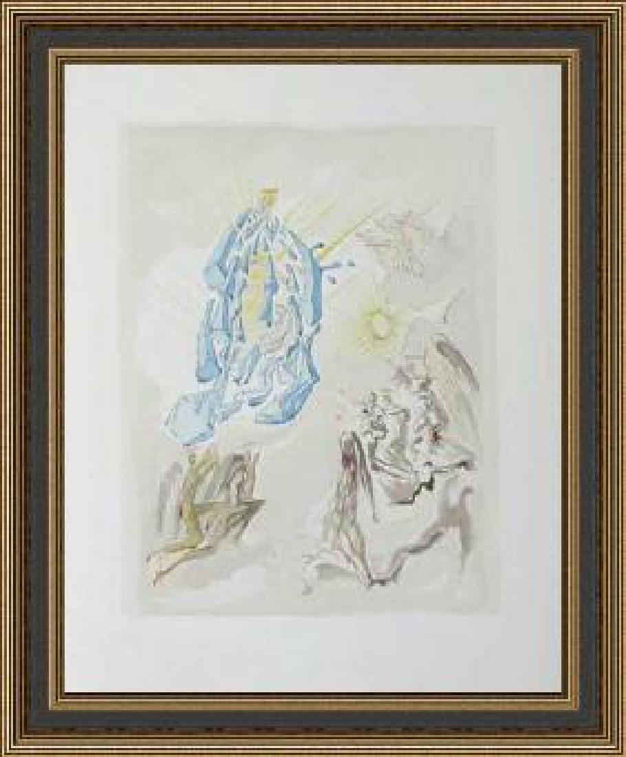 Salvador Dali Woodblock - The Apotheosis of the Virgin