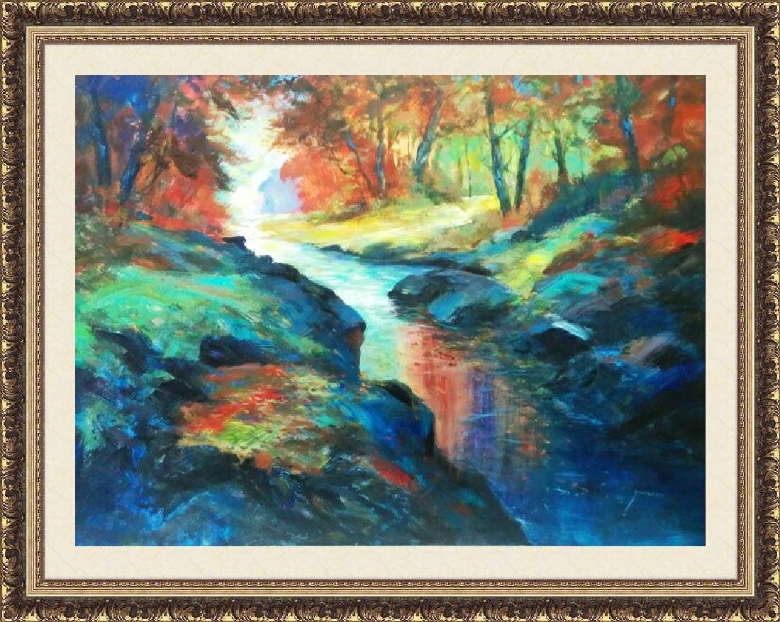 Resting River by Michael Schofield 40x60