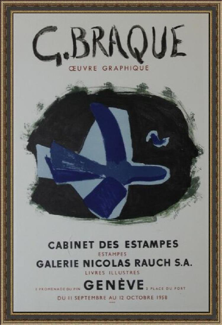Lithograph Georges Braque - Cabinet Des Estampes