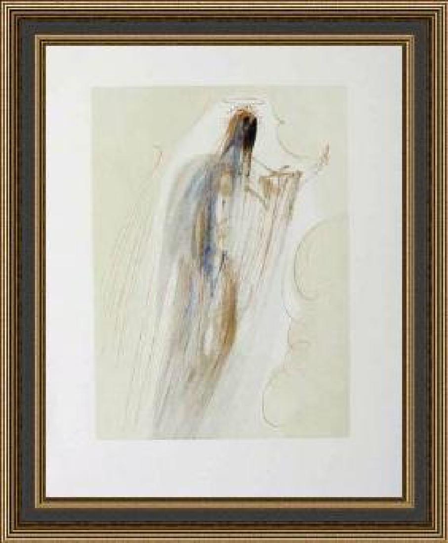 Salvador Dali Woodblock - Arrivalat The Empyrean