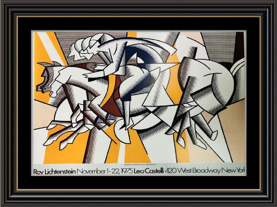 THE RED HORSEMAN 1975 LEO CASTELLI NEW YORK by ROY