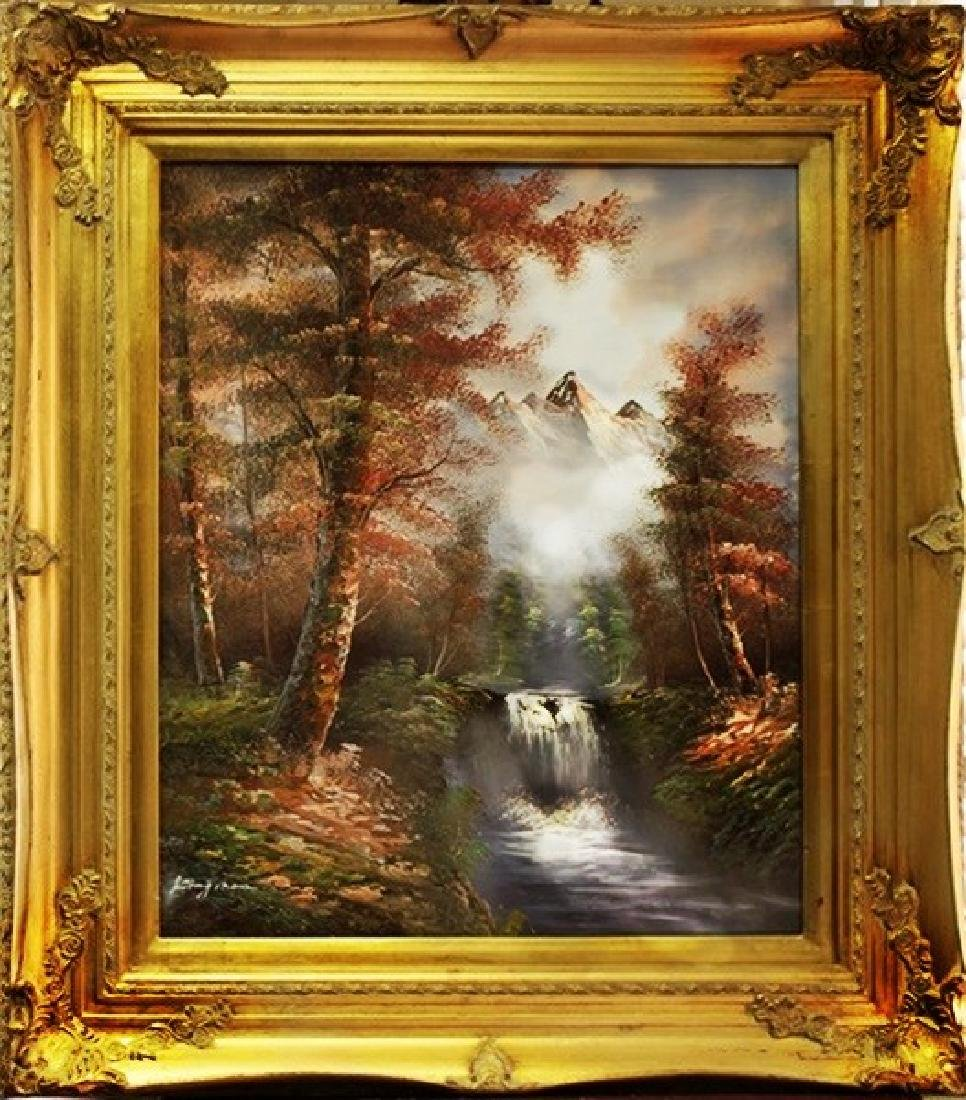 Original Oil Painting by Kingman
