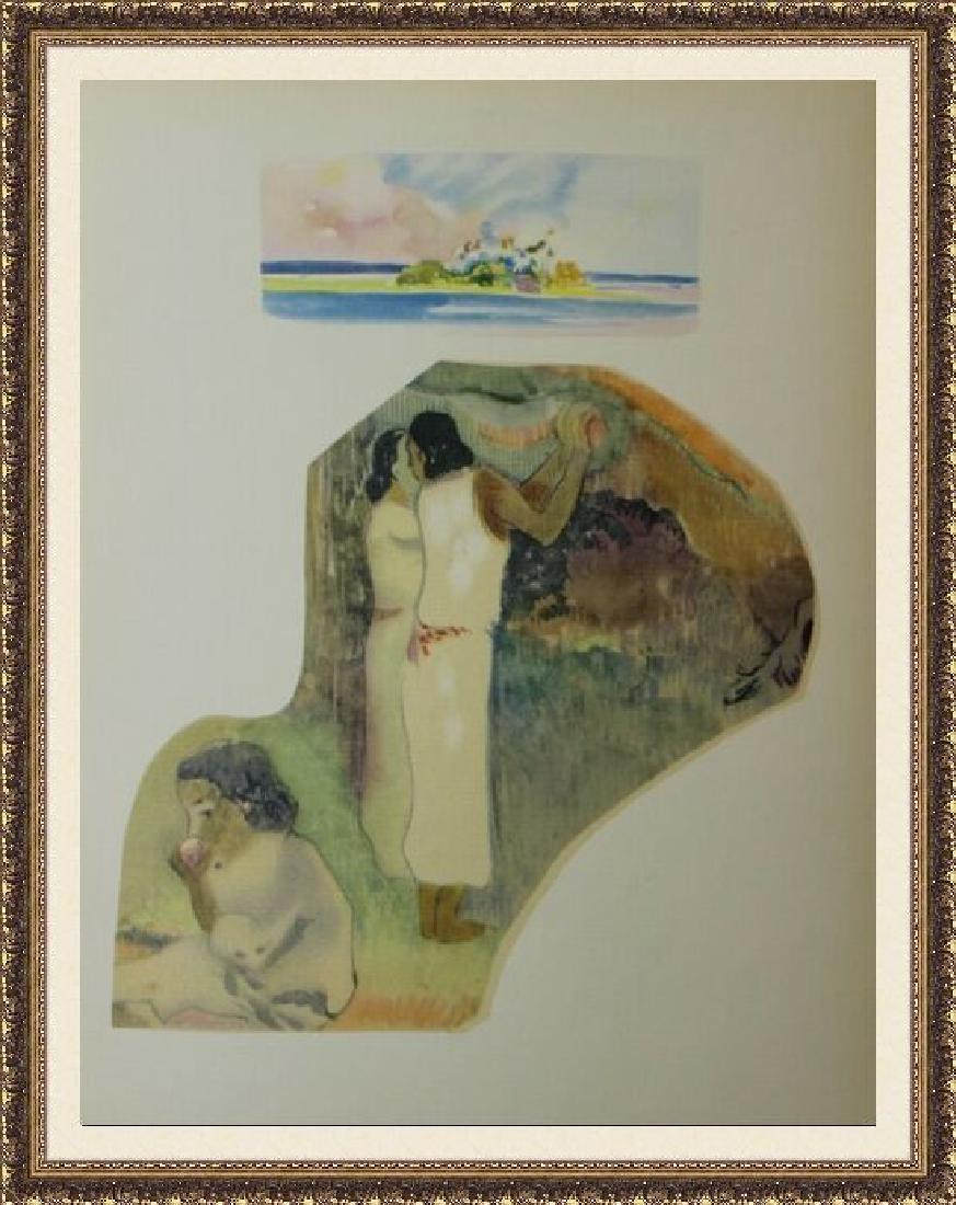 Rare Collotype Paul Gauguin Noa Noa Suite