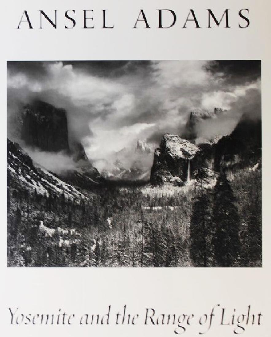 Fine Art Print Ansel Adams - Yosemite The Range of