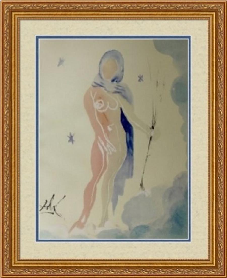 Virgo, Zodiac Suite - Salvador Dali