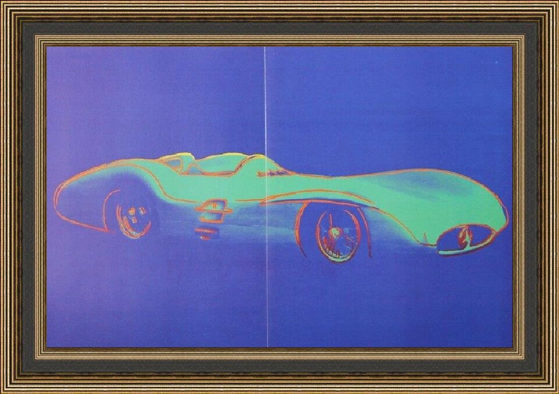 Lithograph by Andy Warhol - Mercedes Benz