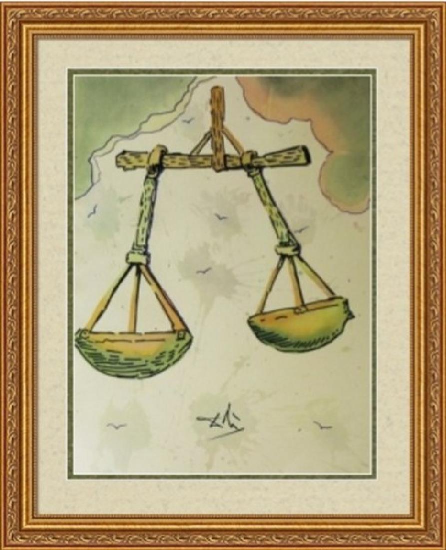 Libra, Zodiac Suite - Salvador Dali