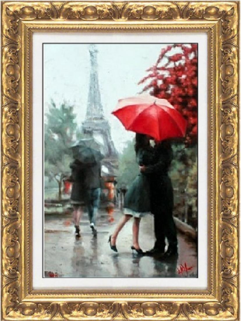 Hand Signed Ltd Ed Del Orfano The City of Love